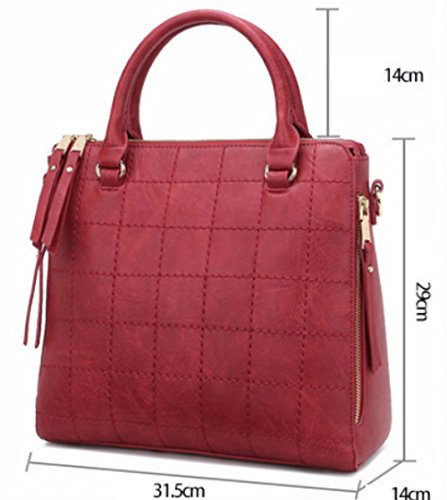 Handbags Bag Crossbody Black Ladies Messenger Bag Tote Portable Bags Shoulder xIxgwYR