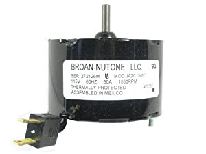 Nutone 26750ser Ventilation Fan Motor Built In Household