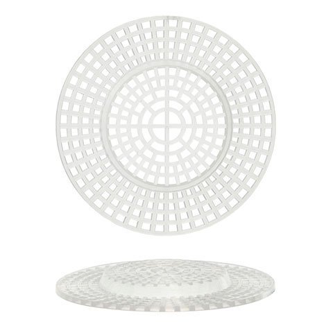 Bulk Buy: Darice DIY Crafts Plastic Canvas Shape Round with