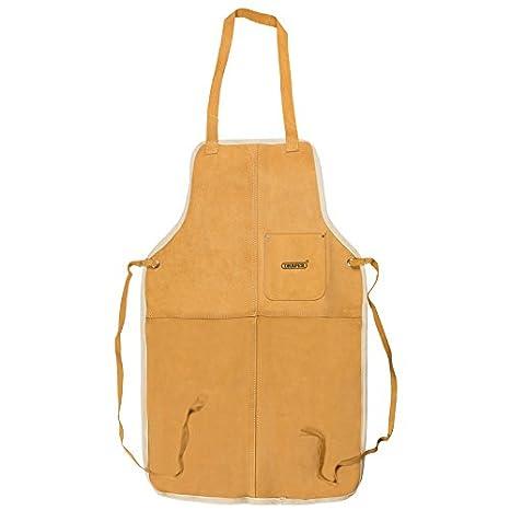 Draper 09699 - Delantal de piel para taller: Amazon.es: Bricolaje y herramientas