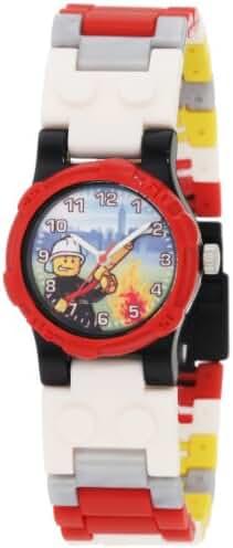 LEGO Kids' 9003448 City Fireman Watch