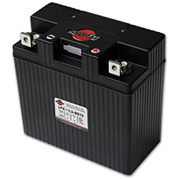 Shorai LFX36L3-BS12 Extreme Rate Lithium Iron Powersports Battery