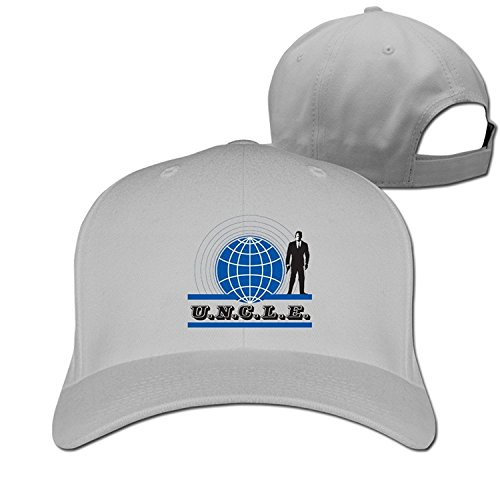 Unisex The Man From U.n.c.l.e. Cool 100% Cotton Adjustable Trucker - It U Braid