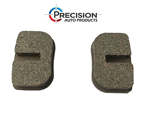 PREMIUM Front Rear Disc Brake Pads - (Set of 2) Easy Replacement Caliper Pads (6mm) for Razor, Baja, Motovox Mini Bikes, Chinese Gas Scooters, Super Pocket Bikes, 97cc 2.8hp DB30 - by Precision Auto