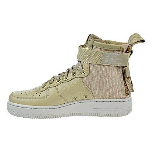 Nike SF Air Force 1 Mid Womens Shoes Mushroom/Light Bone champignon aa3966-200 (5 B(M) US)