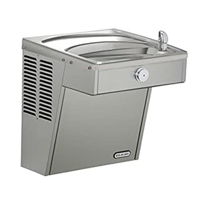 Elkay VRC8S Wall Mount ADA Vandal-Resistant Cooler, Non-Filtered, 8 GPH, Stainless