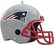 Hallmark Keepsake Christmas Ornament 2020, NFL New England Patriots Helmet with Sound