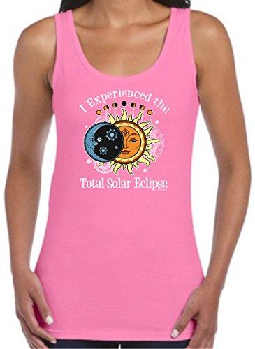 Solar Eclipse Glasses Kids I Experienced The Total Solar Eclipse 2017 Juniors Tank Top Medium Azla
