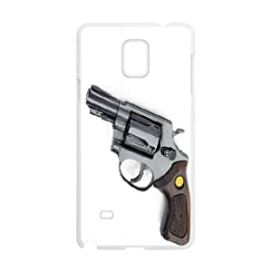 Samsung Galaxy Note 4 Cases Revolver, Samsung Galaxy Note 4 Case Girls - [White] Okaycosama