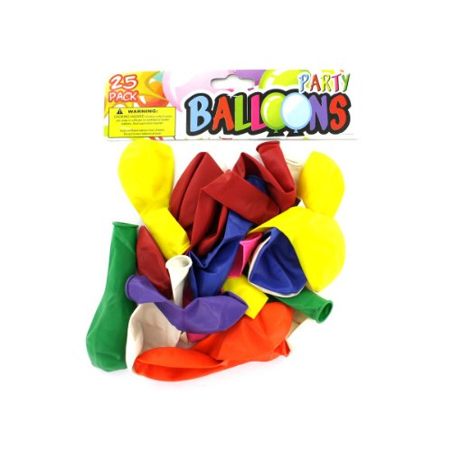 Party Balloon Pack, Case of 144 by bulk buys
