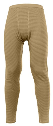 Rothco Military E.C.W.C.S. Generation III Mid-Weight Bottoms, Coyote Brown, -