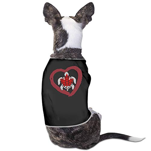 e41ba8bab1f162 COLLJL8 Sea Turtle Canada Heart Pets Clothing Costume Puppy Dog Clothes  Vest Tee T-Shirt