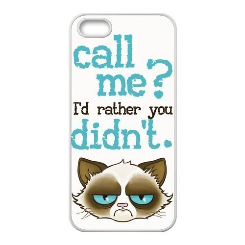 Cute Grumpy Cat Cartoon Hard Phone Cover Case for iPhone ipod touch4 Cases Designed by HnW Accessories