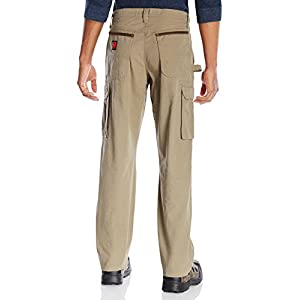 Wrangler Men's Riggs Big and Tall Cleaning Pant-back-sandWrangler Men's Riggs Big and Tall Cleaning Pant-back-sand
