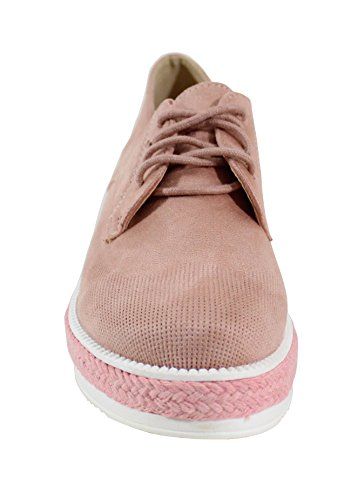 Shoes Scarpe Rosa By Basse Stringate Donna TRTwvd