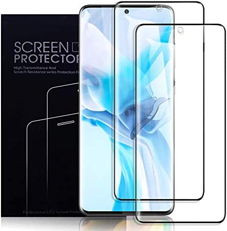 KCEN Screen Protector for Samsung Galaxy S20 [2 Pack], [Full Coverage] [Anti-Scratch] [Ultrasonic Fingerprint Support] [Case Friendly] Screen Protector Film for Samsung Galaxy S20 5G (6.2 Inch)