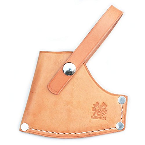 Axe Sheath / Mask / Cover for Council Tool 2.25  Boy's Axe with 28″ Curved Wooden Handle