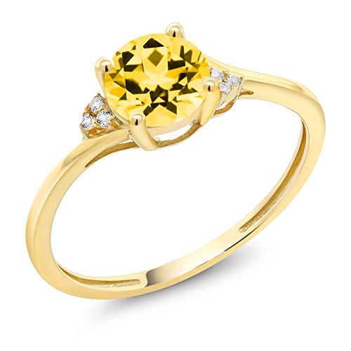 10k Gold Gemstone - 4