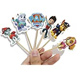 24pcs Paw Patrol Party Cake Decorations Toppers...