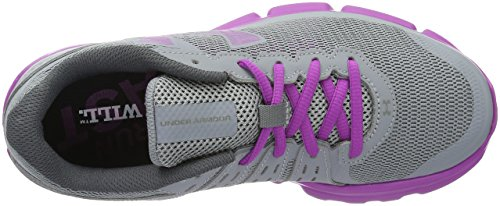 Speed da Swift Grigio Corsa Donna Armour Micro Under Scarpe Steel G PfBR6nq