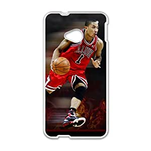 Ross NBA White Phone Case for HTC One M7