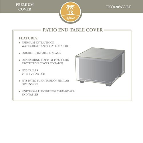 Havana Bench (Bermuda/Royal/Rustico/Soho/Tuscan/Bahama/Havana End Table Outdoor Protective Cover)