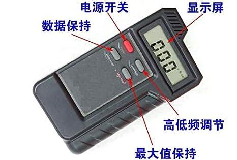 GOWE comprobador de radiación electromagnética, Campo magnético detector de radiación, fuerza comprobador: Amazon.es: Bricolaje y herramientas