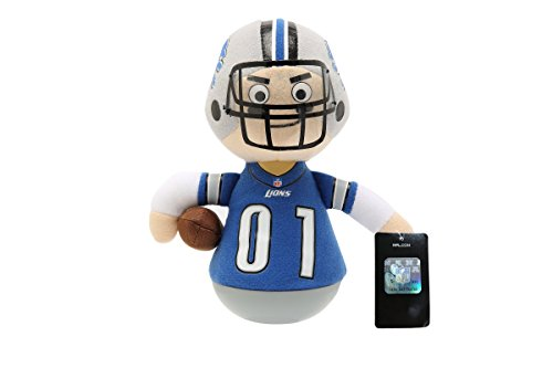 NFL Rock'emz Collectible Sports Figurine - 7 in. Tall (Detroit Lions)