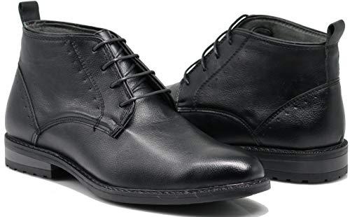 SHL Men's Chelsea Boots Dress Fashion Slip On Classic Ankle Boots