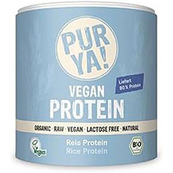 Purya Proteína Vegetal 100% Arroz Ecológica - 250 gr: Amazon ...