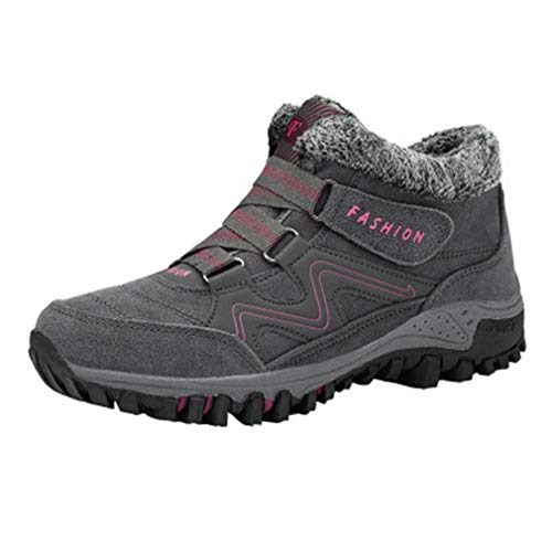 GIY Women's Winter Hiking Snow Ankle Boots Waterproof for sale  Delivered anywhere in Canada