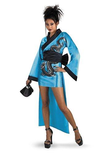 Dragon Geisha Costume Adult -