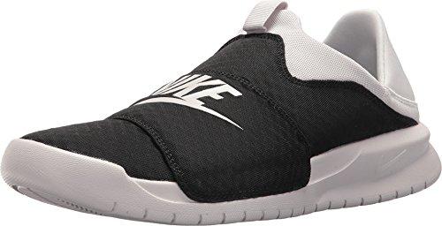 Nike Men's Benassi SLP, Black/VAST Grey-VAST Grey, 10 M US
