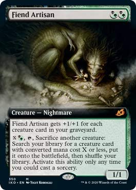 MTG Ikoria FIEND ARTISAN Magic the Gathering