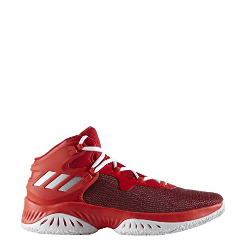 adidas Performance Mens Explosive Bounce Running Shoe Scarlet-silver Metallic-red 3QA8cnf