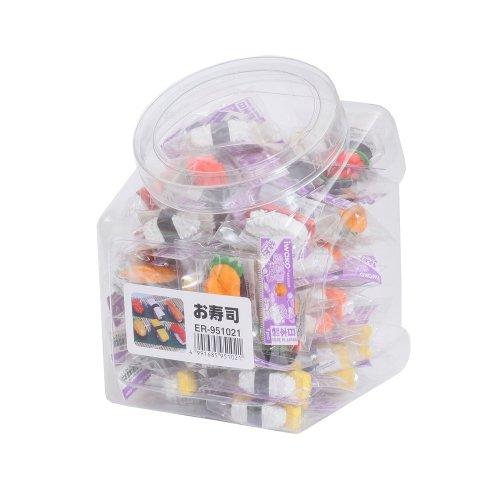 60 Pieces Sushi Eraser(japan Import)