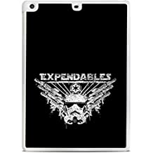 Expendable Stormtrooper Art White iPad Air Hardshell Case by MWCustoms