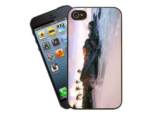 Scène de plage, design Coque pour Apple iPhone 4/4s-By Eclipse idées cadeaux