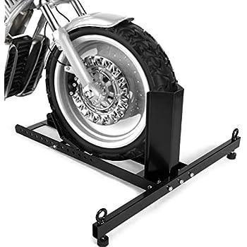 Venom Motorcycle Bike Front Tire Wheel Chock Lift Stand For Harley Davidson Road Glide Custom Ultra