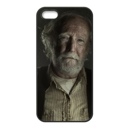 Hershel Greene 001 coque iPhone 5 5S cellulaire cas coque de téléphone cas téléphone cellulaire noir couvercle EOKXLLNCD24361