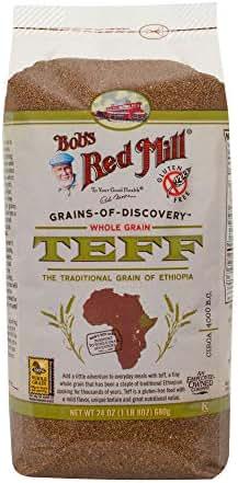 Flours & Meals: Bob's Red Mill Teff Flour