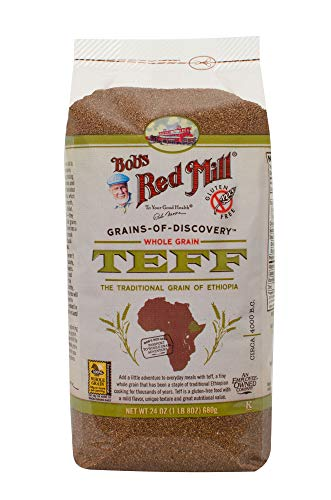 (Bob's Red Mill Whole Grain Teff, 24 Oz (4 Pack) )