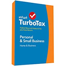 TurboTax Home & Business 2014 Fed + State + Fed Efile Tax Software [Old Version]