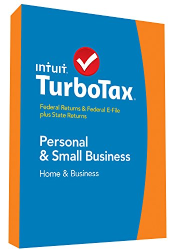 TurboTax Home & Business 2014 Fed + State + Fed Efile Tax Software + Refund Bonus Offer image