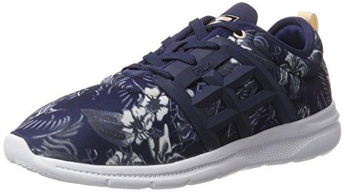 Fila Fila Base Powerbolt 2 Low Wmn - Zapatillas de casa Mujer Violett (CROWN Blue)