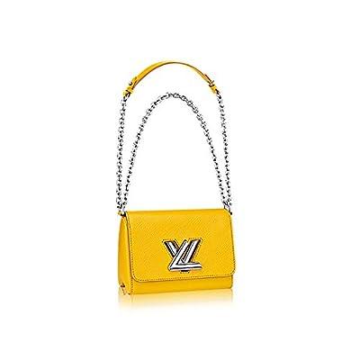 Authentic Louis Vuitton Epi Leather Twist PM Purse Handbag Article: M51012 Jonquille Made in France
