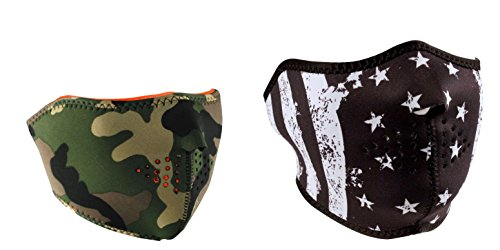 bundle-2-items-1-zanheadgear-woodland-camo-half-face-neoprene-face-mask-and-1-zan-black-white-vintag