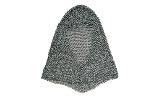 SZCO Supplies Silver Chainmail Coif Steel Chainmail for sale  Delivered anywhere in Canada