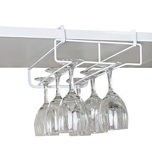 GeLive-Under-Shelf-Cabinet-Wine-Glass-Stemware-Rack-Holder-Hanger-Storage-for-Bar-Kitchen-Stainless-Steel