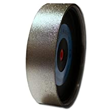 "Grit 100 Kent 8"" Diam x 2"" Wide Diamond Lapidary Jewelry Grinding Wheel"